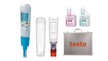 pH-metr testo 206 pH2 zestaw startowy w walizce