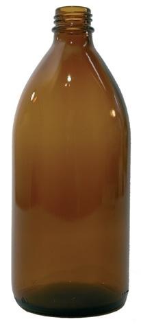 Butelka pomiarowa do OxiTop (brązowa)