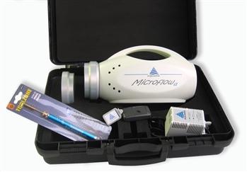 Próbnik powietrza MICROFLOW alfa 90/C z głowicą 90mm ze stali nierdzewnej