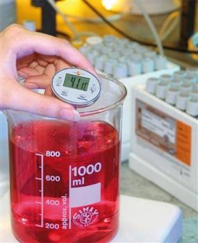 Wodoodporny minitermometr
