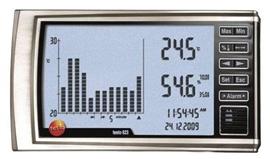 testo 623 – termohigrometr z histogramem