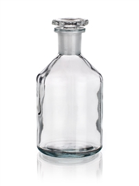 Butelka szklana ze szlifem z wąską szyją Simax