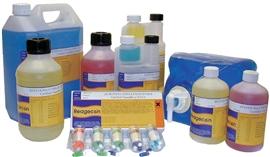 Roztwór buforowy pH kodowany kolorem