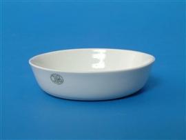 Naczynie do wyżarzania porcelanowe, niskie