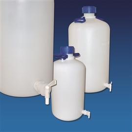 Butelka HDPE z kranem