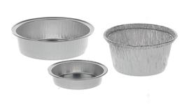 Naczynie aluminiowe jednorazowe
