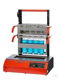 Szybki mineralizator z grzaniem na podczerwień typ InKjel 475 M (4x750mL)