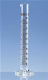 Cylinder miarowy wysoki szklany, klasa A, skala brązowa certyfikat