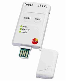 Rejestrator temperatury testo 184 T1 USB bez wyświetlacza