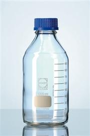 Butelka szklana z niebieską nakrętką, Duran