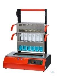 Szybki mineralizator z grzaniem na podczerwień typ InKjel 1225 M (12x250mL)
