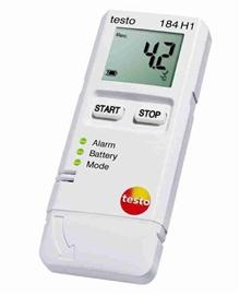 Rejestrator temperatury i wilgotności testo 184 H1