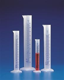 Cylinder PP wysoki skala niebieska