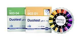 Papierki wskaźnikowe pH DUOTEST