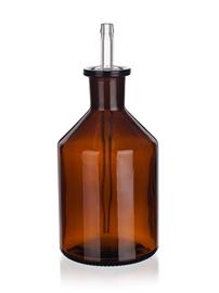Kroplomierz szklany z pipetką (oranż), Simax