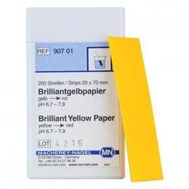 Papierki wskaźnikowe pH bez skali barw