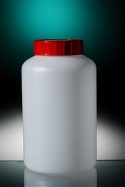 Butelka HDPE okrągła