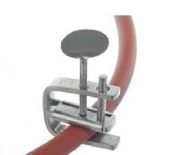 Zacisk śrubowy ze stali nierdzewnej