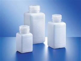 Butelka HDPE kwadratowa, z szeroką szyją (naturalna)