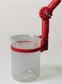 Zlewka kątowa PP do drążka aluminiowego