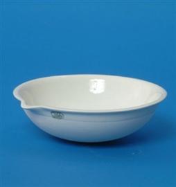 Parownica porcelanowa okrągłodenna, średnio głęboka