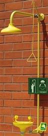 Zestaw kombinowany mocowany poziomo do ściany