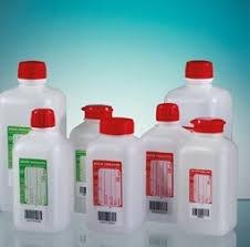 Butelka HDPE z tiosiarczanem sodu