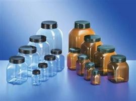 Słój PVC (transparentny) z nakrętką