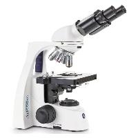 Mikroskop biologiczny bScope dwuokularowy z obiektywami E-plan IOS