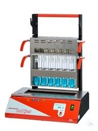 Szybki mineralizator z grzaniem na podczerwień typ InKjel 1225 P (12x250mL)