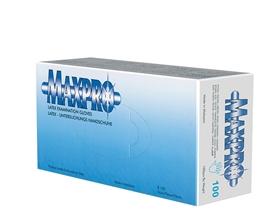 Rękawice lateksowe pudrowane MaxPro