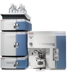 Spektrometr mas TSQ Quantum Access MAX sprzężony z chromatografem cieczowym