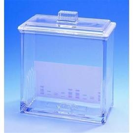 Komora chromatograficzna na 5 płytek TLC, 20x20, z pokrywą
