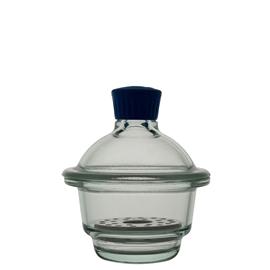 Eksykator szklany z wkładem porcelanowym, Simax