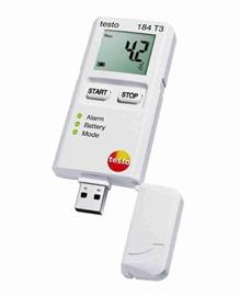 Rejestrator temperatury testo 184 T3 USB z wyświetlaczem
