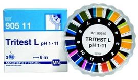 Papierki wskaźnikowe pH TRITEST
