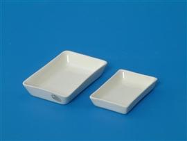Naczynie do wyżarzania porcelanowe, prostokątne