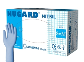 Rękawice nitrylowe bezpudrowe Nugard